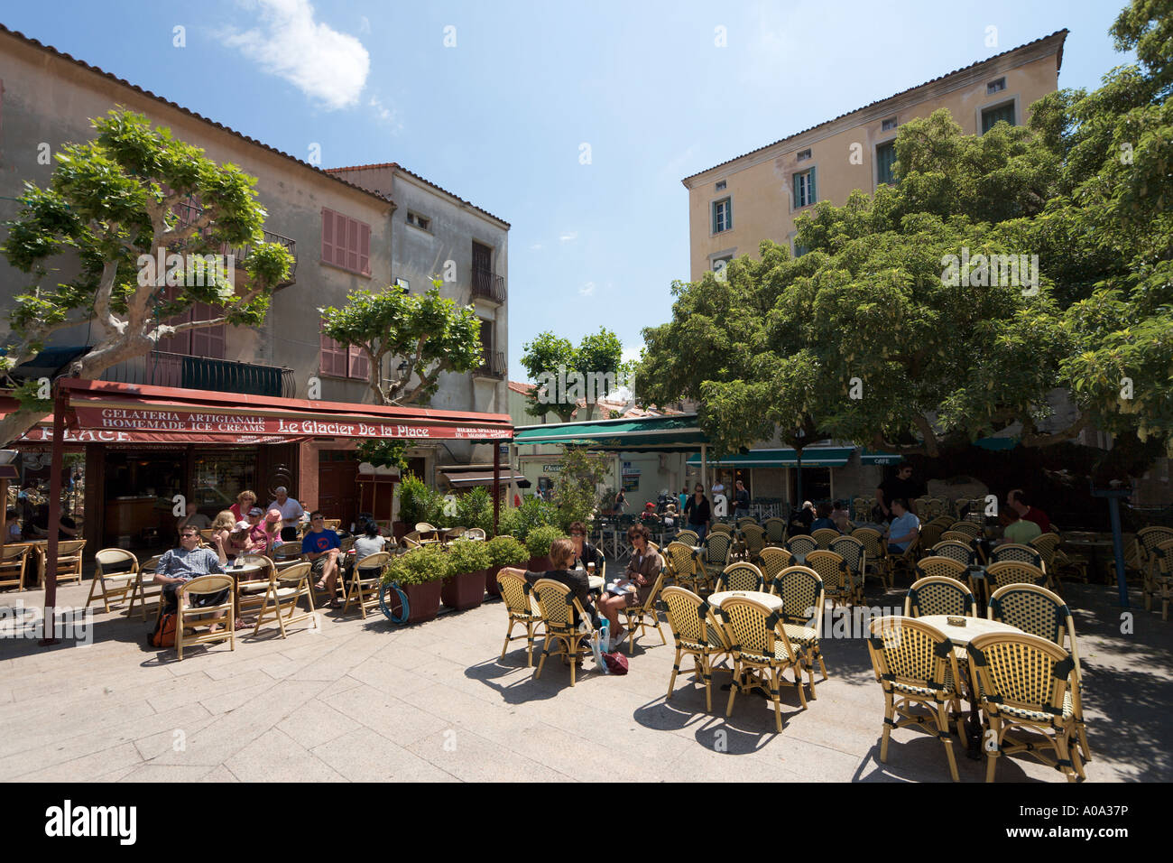 old town porto vecchio corsica stockfotos old town porto. Black Bedroom Furniture Sets. Home Design Ideas