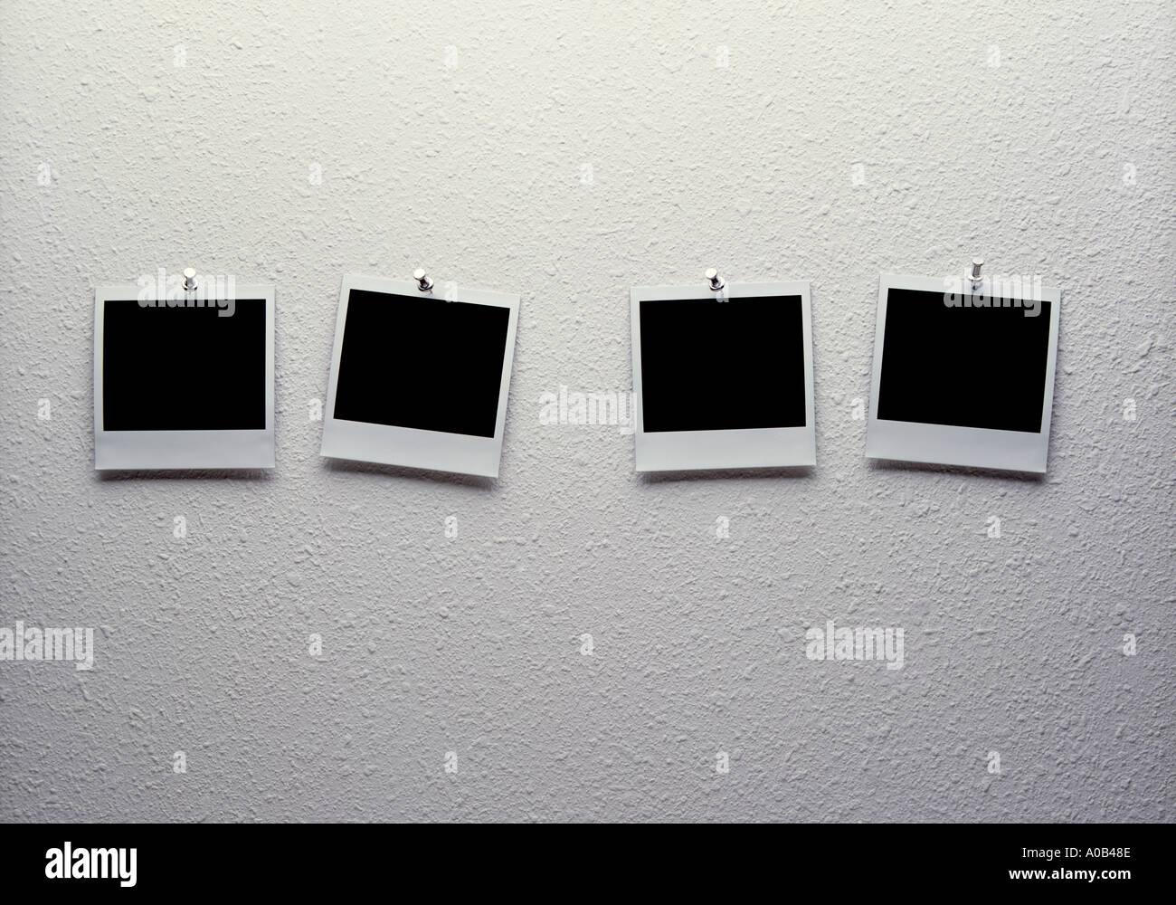 Polaroids Stockbild