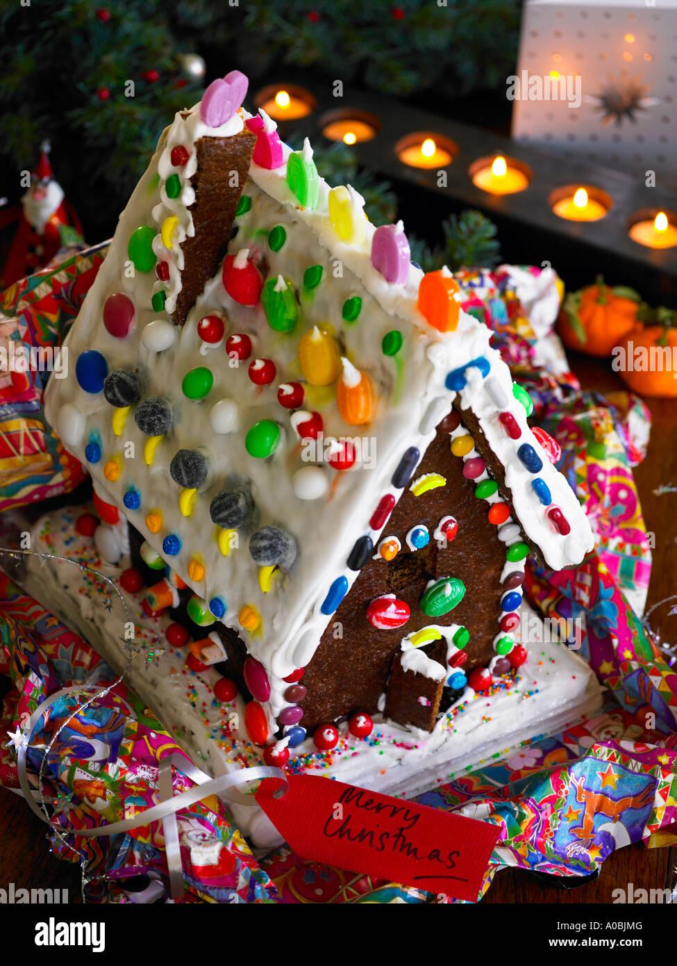 traditionelle Märchen Ingwer Brot Haus als ein Geschenk für ...