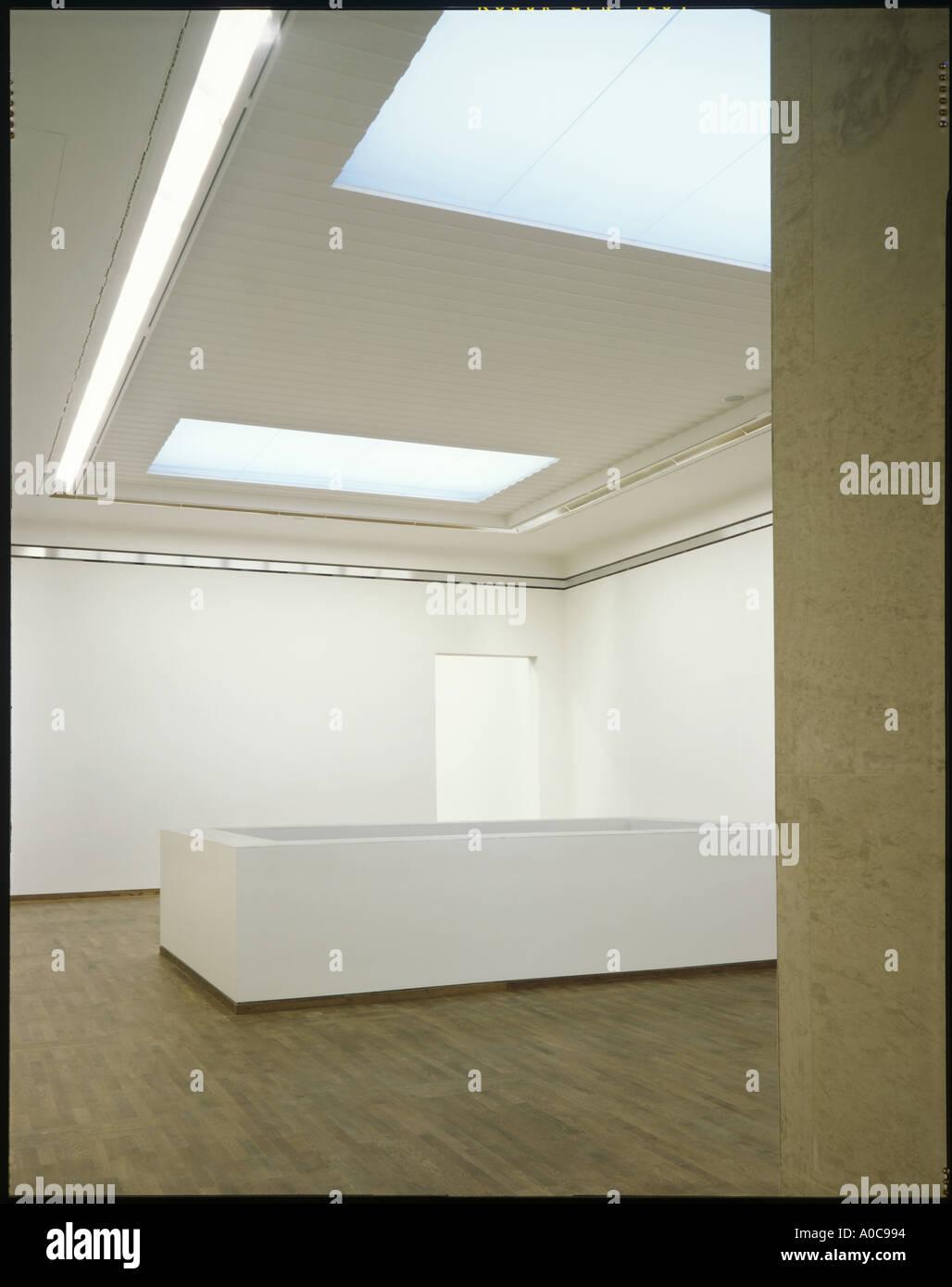 Museum Quarter   Leopold Museum, Wien. Innenraum. Leere Galerie. Beleuchtung  Von Zumtobel Staff GmbH. Architekt: Ortner Und Ortner