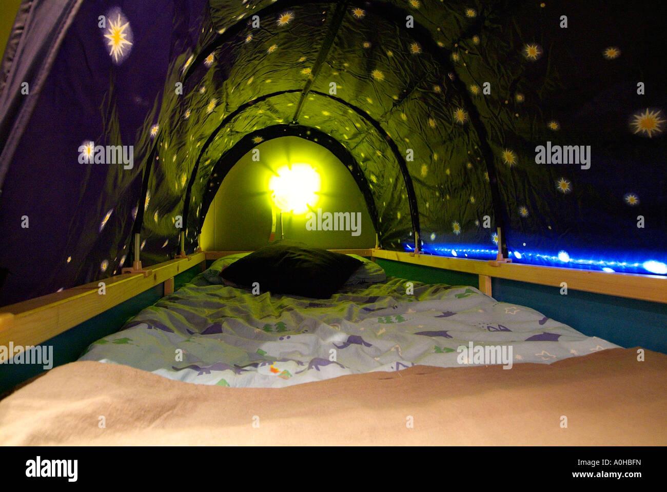 Bett Kinder Jugendliche Jungen Madchen Koje Tunnel Hohle
