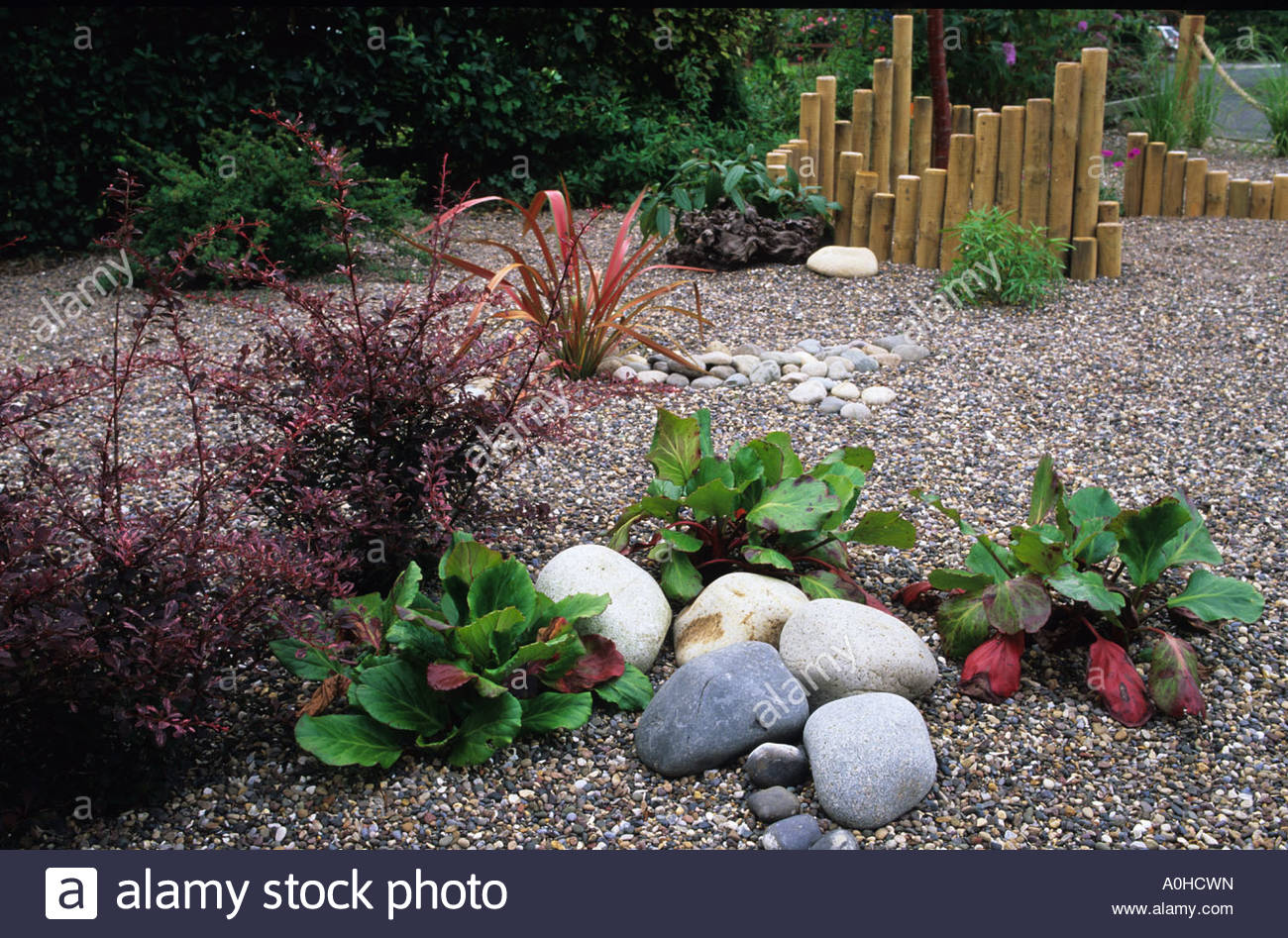 Privater Garten. Whitley Bay. Tyne and Wear. Design: Alan Titchmarsh ...