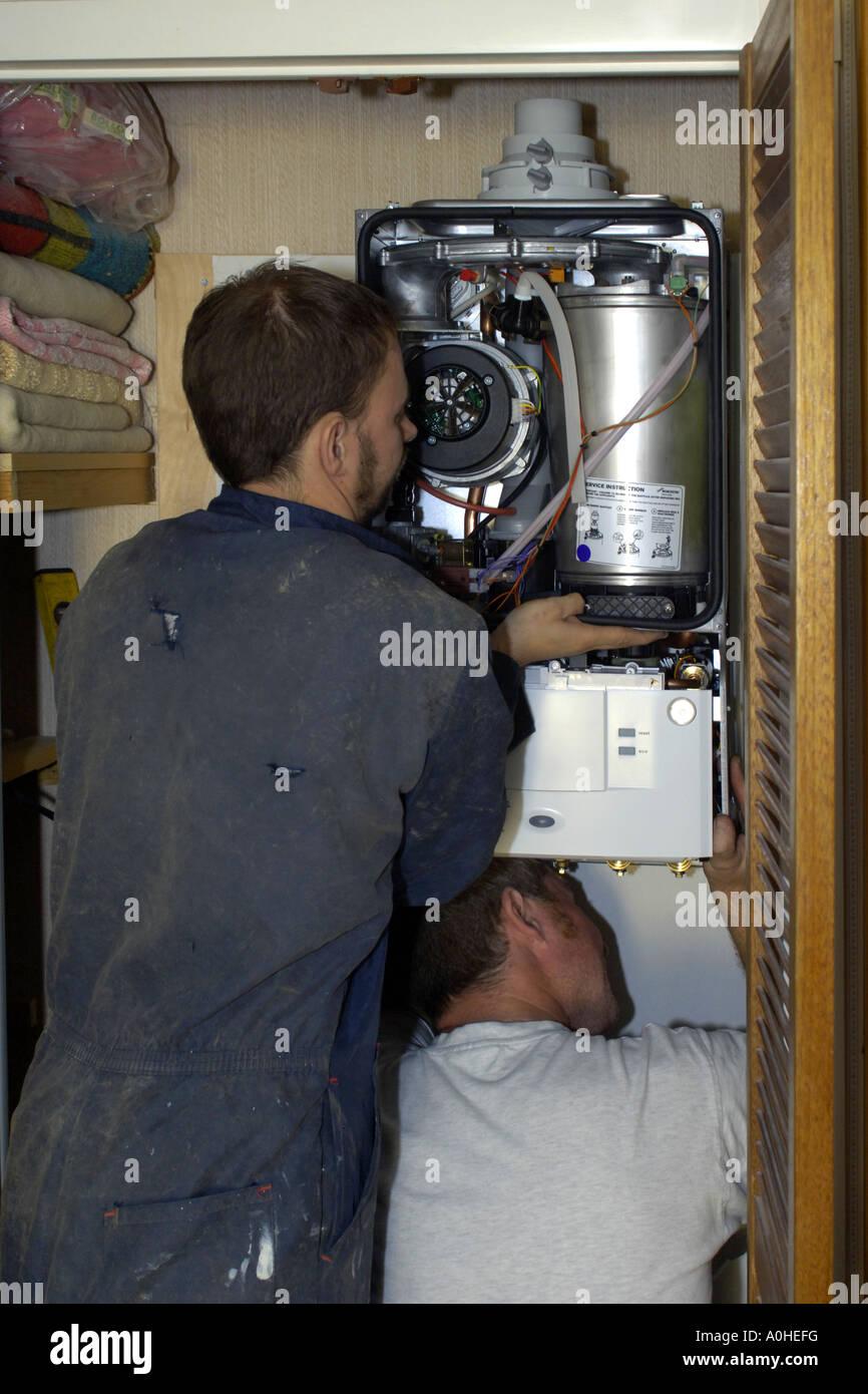 Berühmt Kombikessel Installation Galerie - Elektrische Schaltplan ...