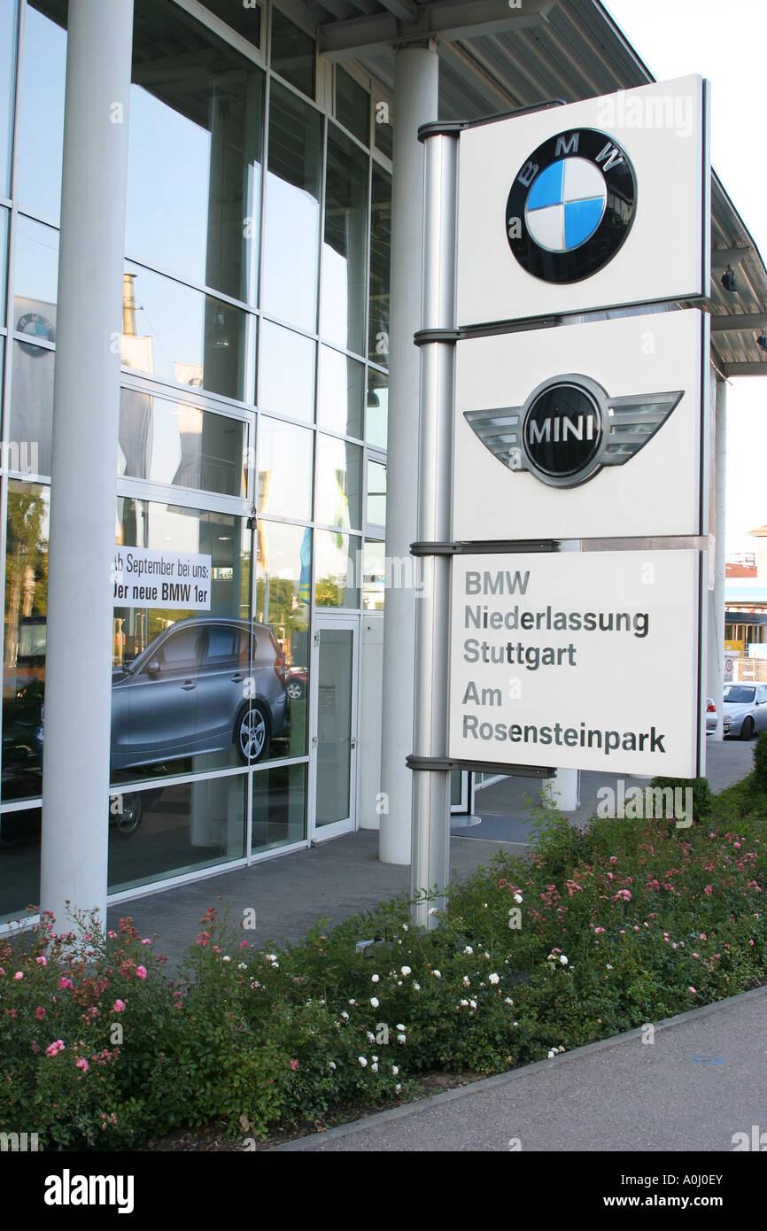 Bmw Und Mini Händler In Stuttgart Baden Württemberg Deutschland