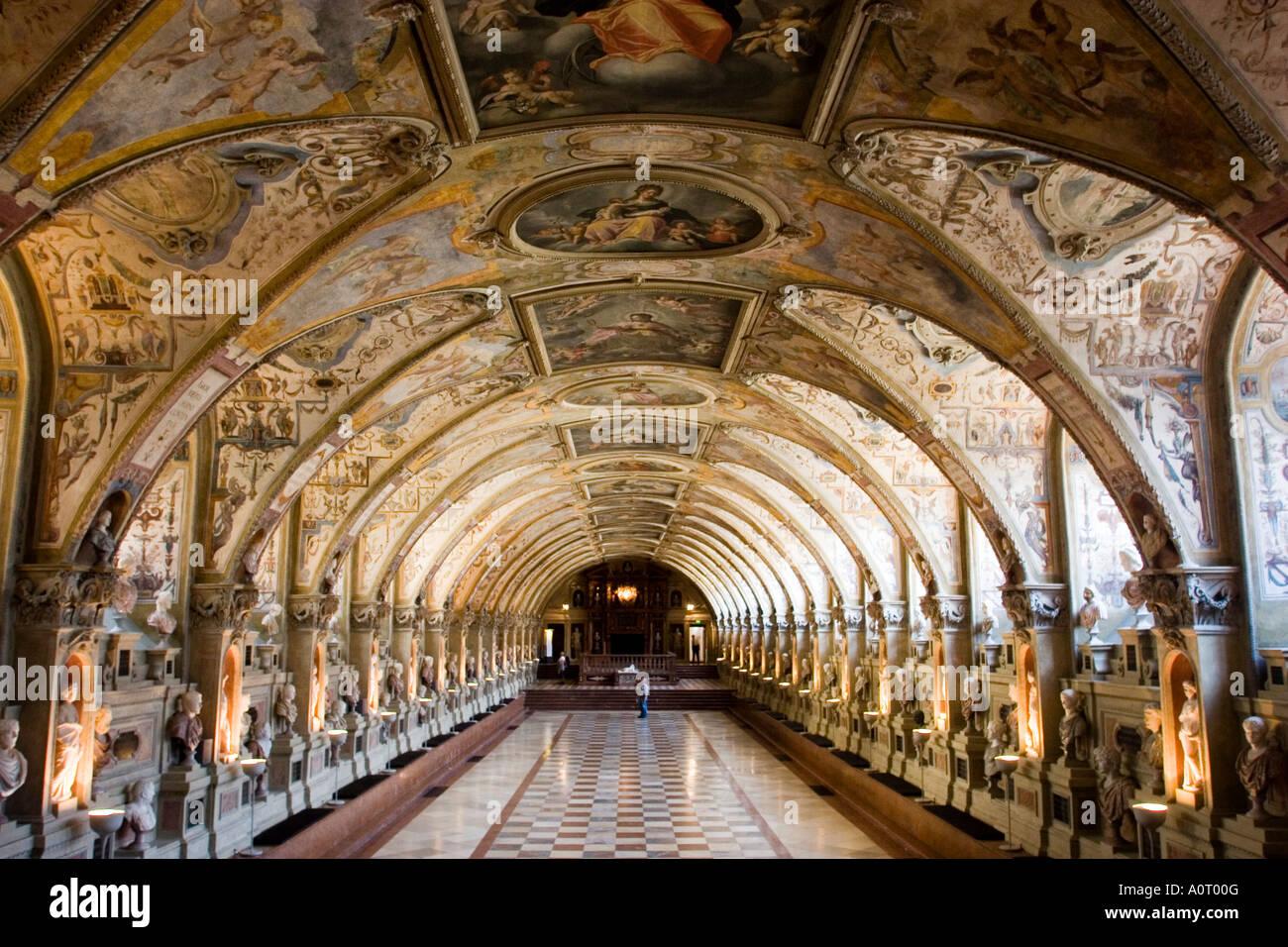 Antiquarium Zimmer Im Residenzmuseum München Bayern Deutschland