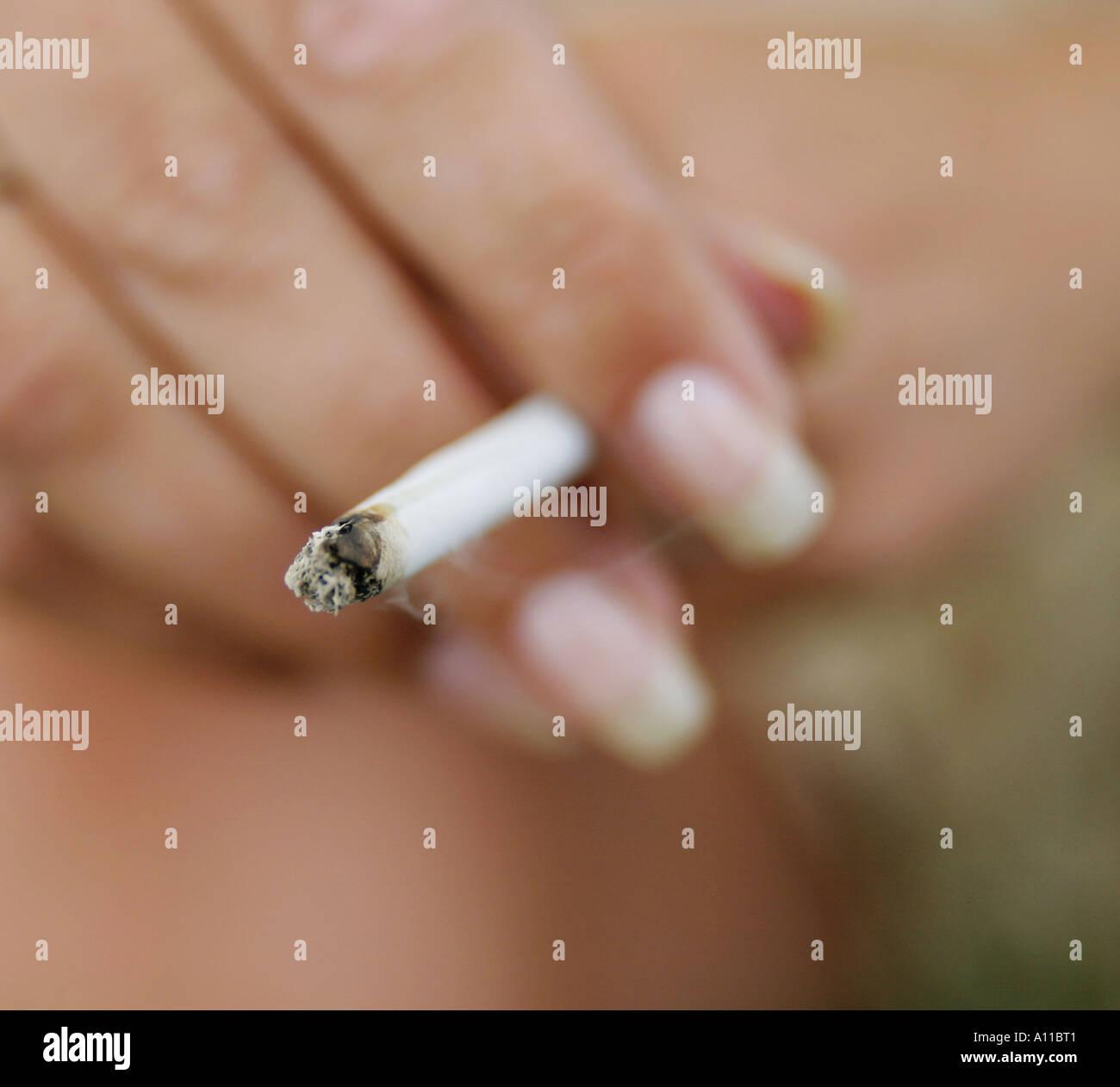Rauchen 3 Stockbild