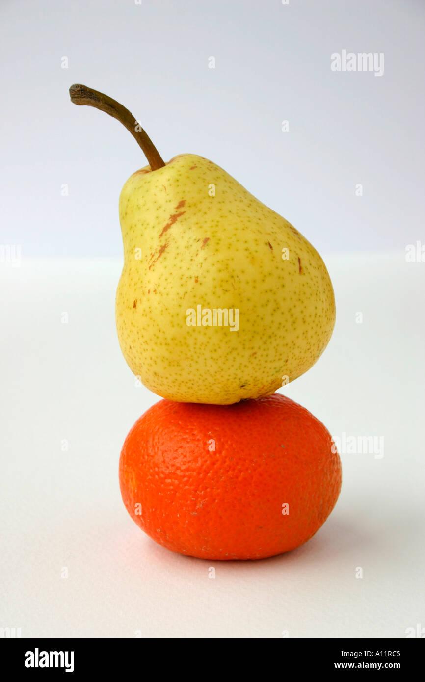Ein fruchtig-paar. Stockbild