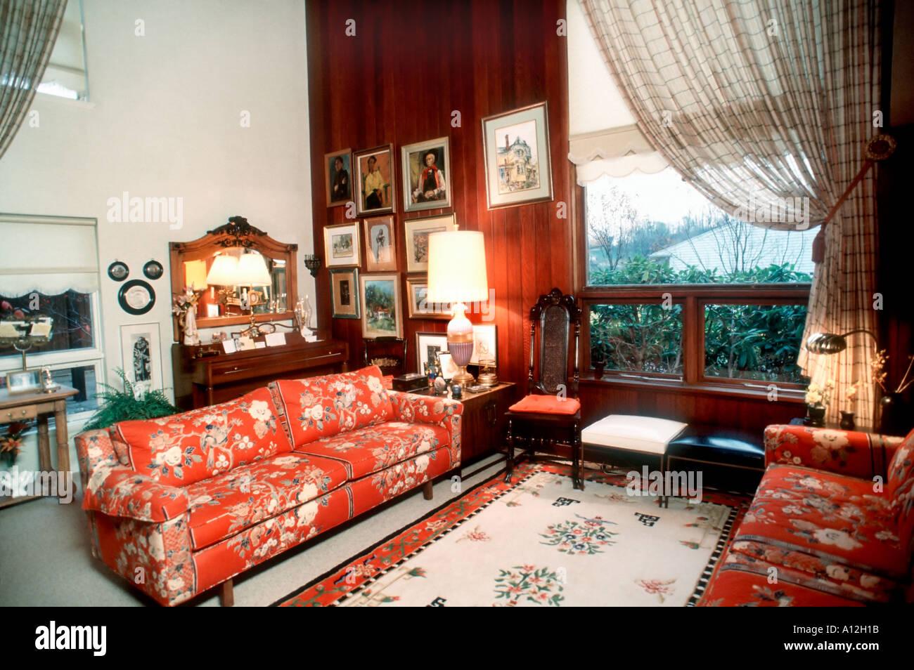 Innenarchitektur Usa pittsburgh pa usa einfamilienhaus in wohnzimmer innenarchitektur