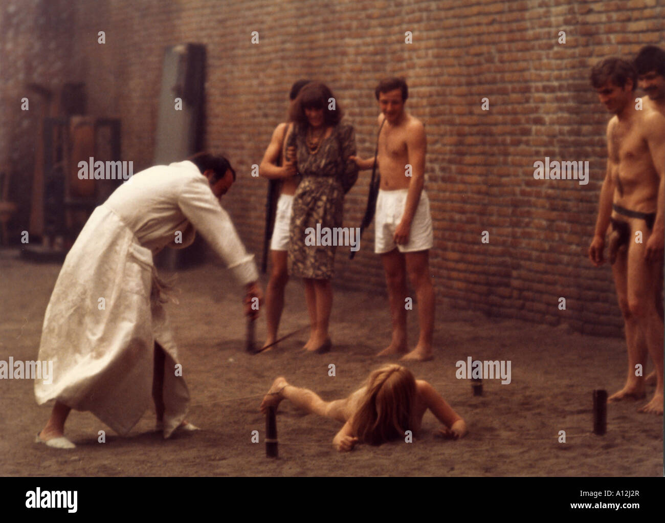 Salo o le 20 Giornate di Sodoma Baujahr 20 Regisseur Pier Paolo ...