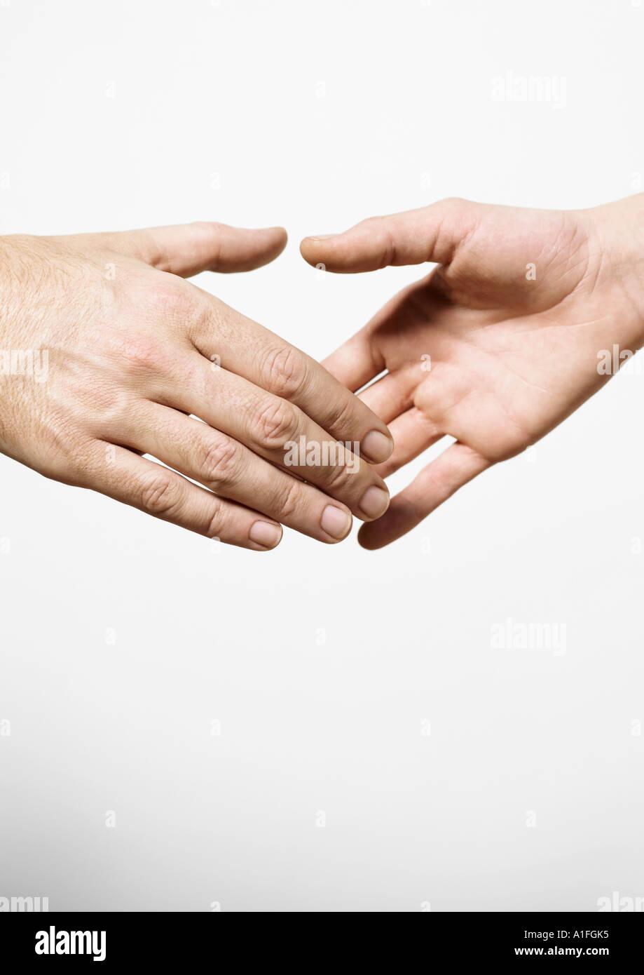 Handshake Stockbild