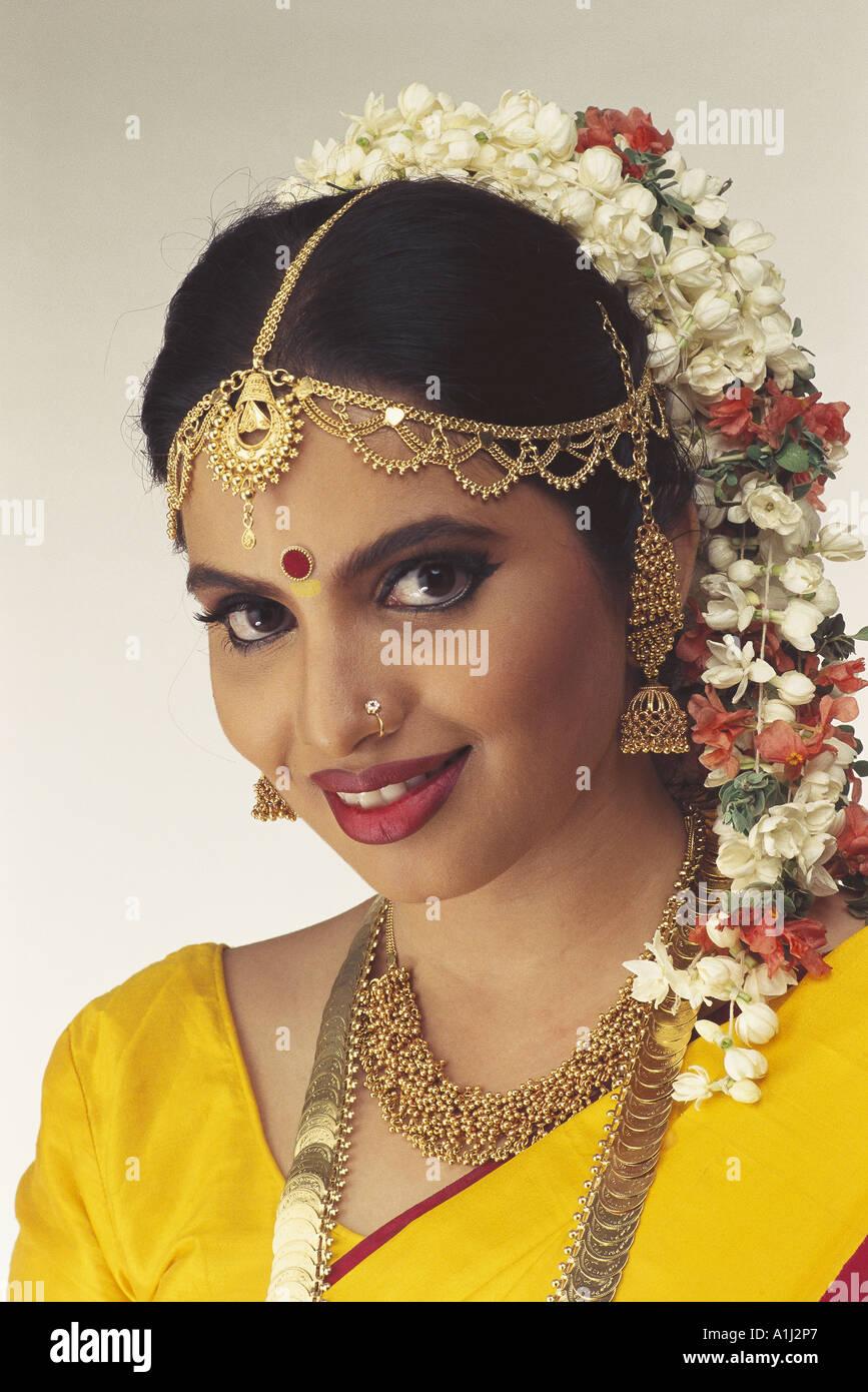 South Indian Bride tamilischen Karnataki Andhraite Keralaite in Ehe ...