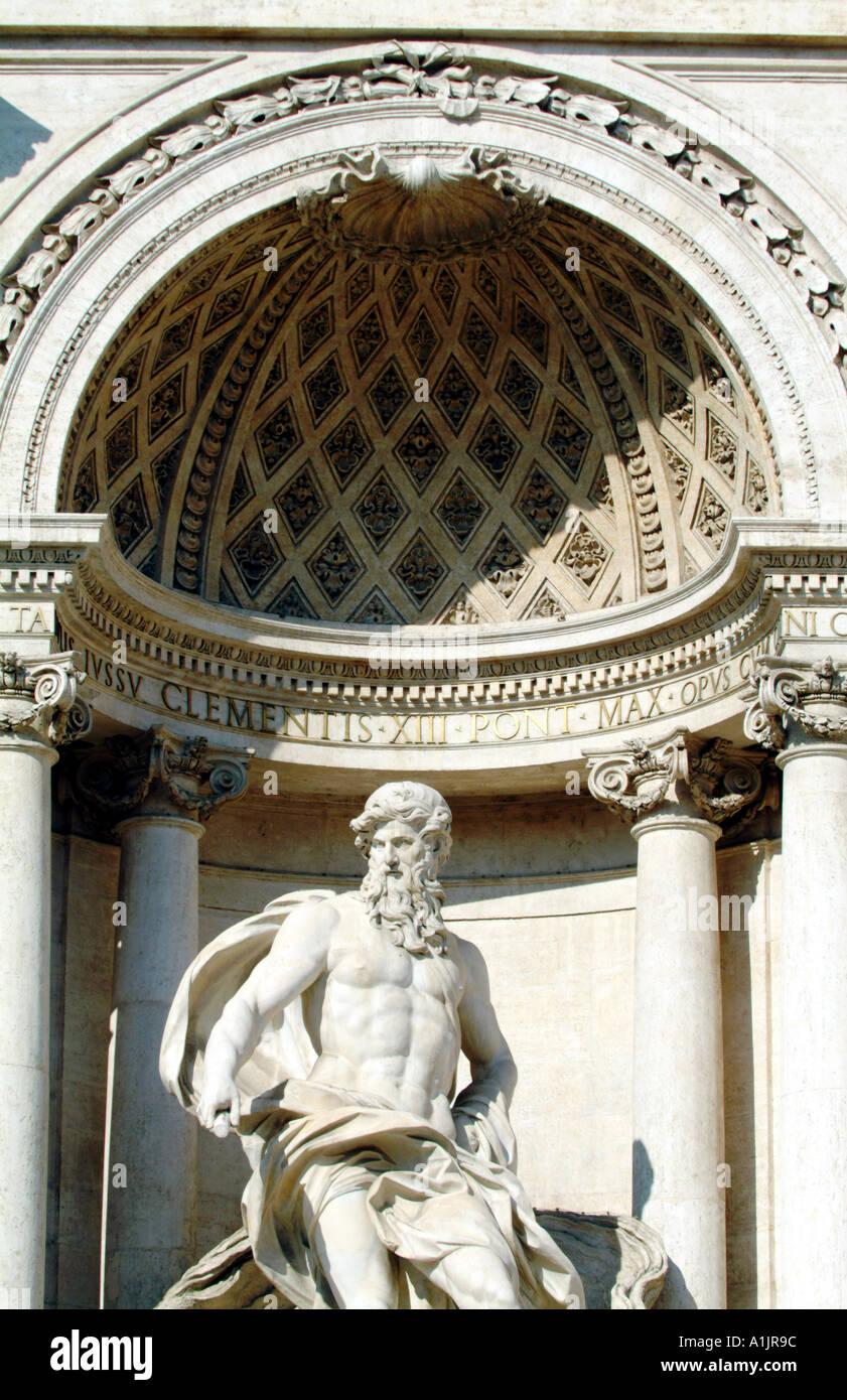 Trevibrunnen Rom Stockfoto