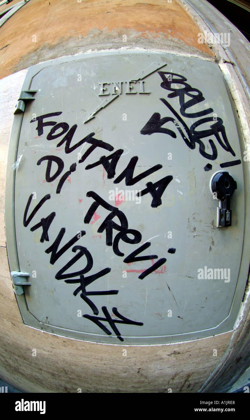 Trevi-Brunnen Stockfoto