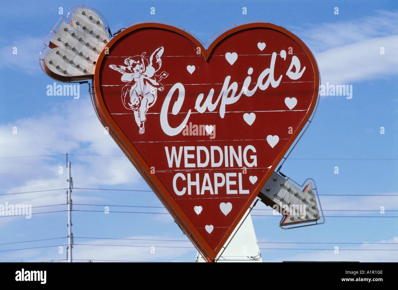 Das Zeichen Der Cupid S Wedding Chapel In Las Vegas Nevada