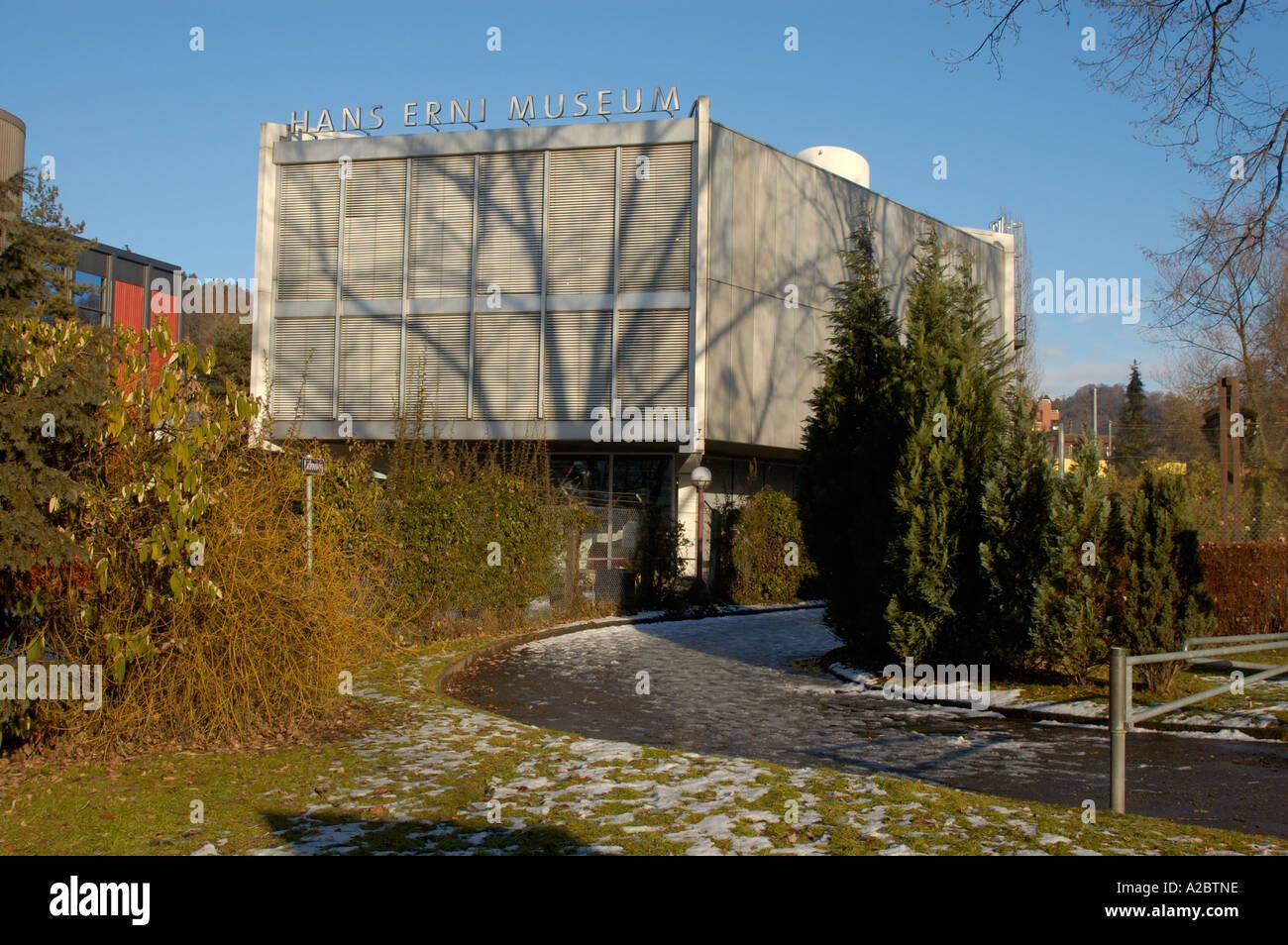 Hans Erni Museum in Luzern, Schweiz. (c) von Uli Nusko, ch-3012 bern Stockbild