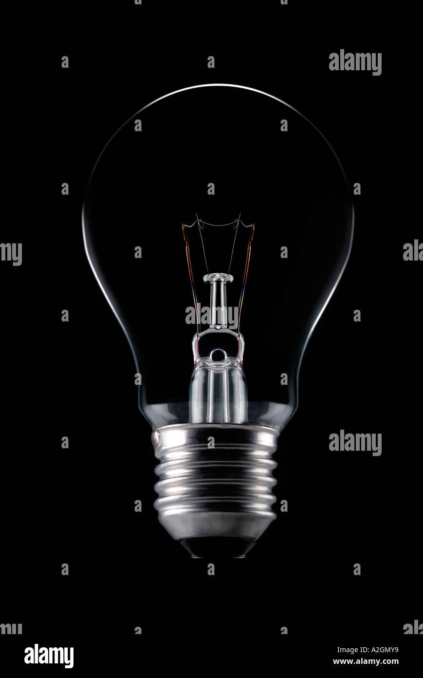 Lampe Gluehbirne Stockbild