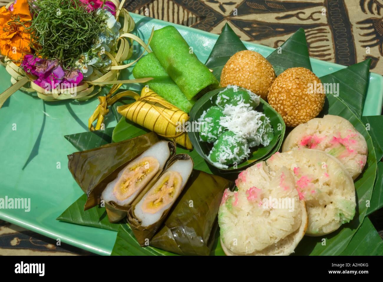 Indonesien Bali Ubud Ladybamboo Villa Kochkurs Jajan Pasar süße ...