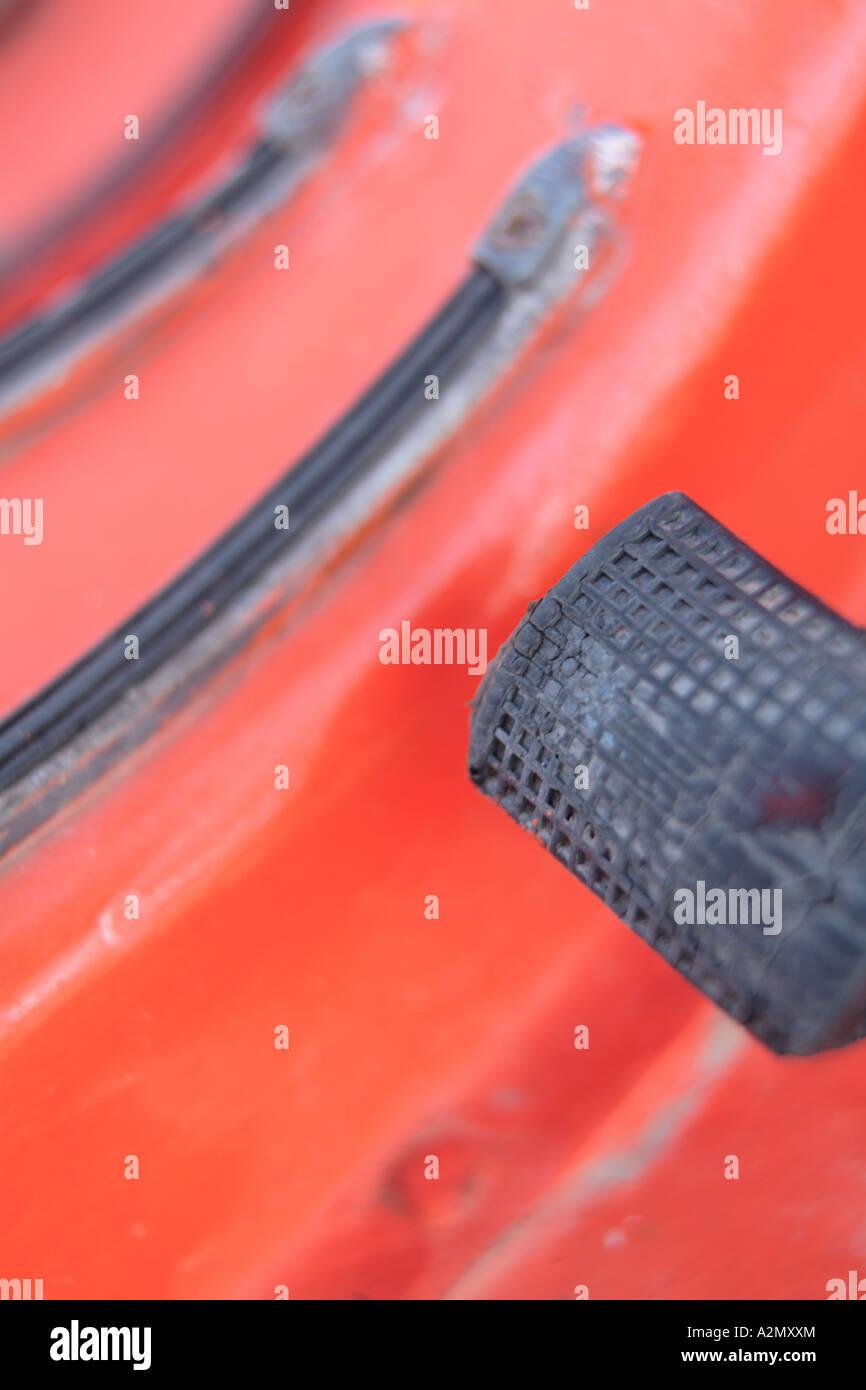 Scooter-pedal Stockbild