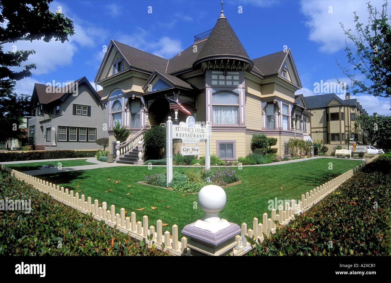 Geburtsort und Heimat von John Steinbeck die Autor und Nobelpreisträger in Salinas, Kalifornien USA Stockbild