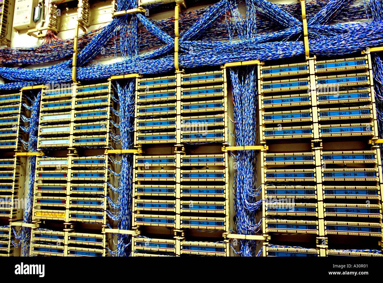 Hauptverteiler Stockfoto, Bild: 3471104 - Alamy