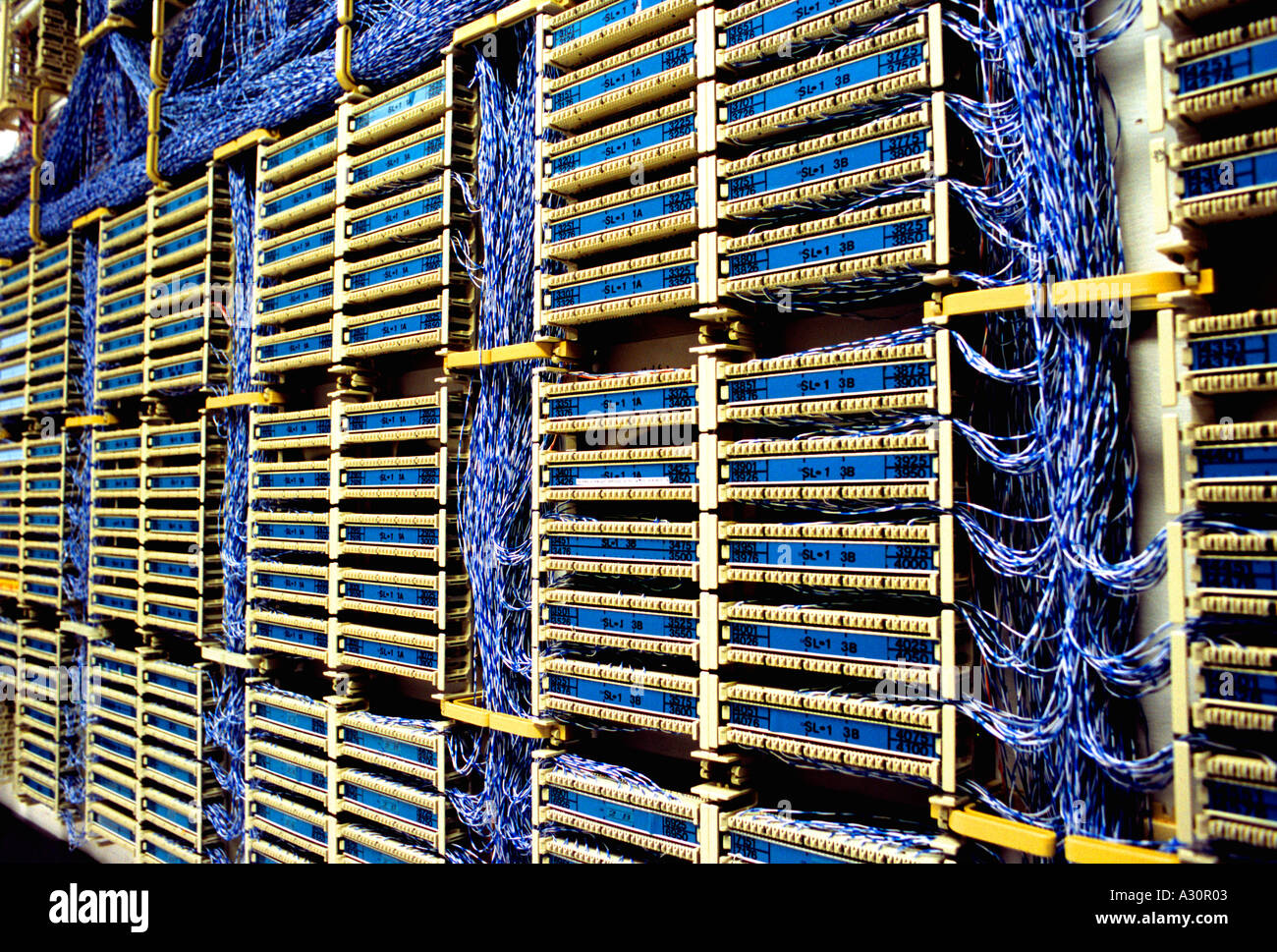 Hauptverteiler Stockfoto, Bild: 3471106 - Alamy