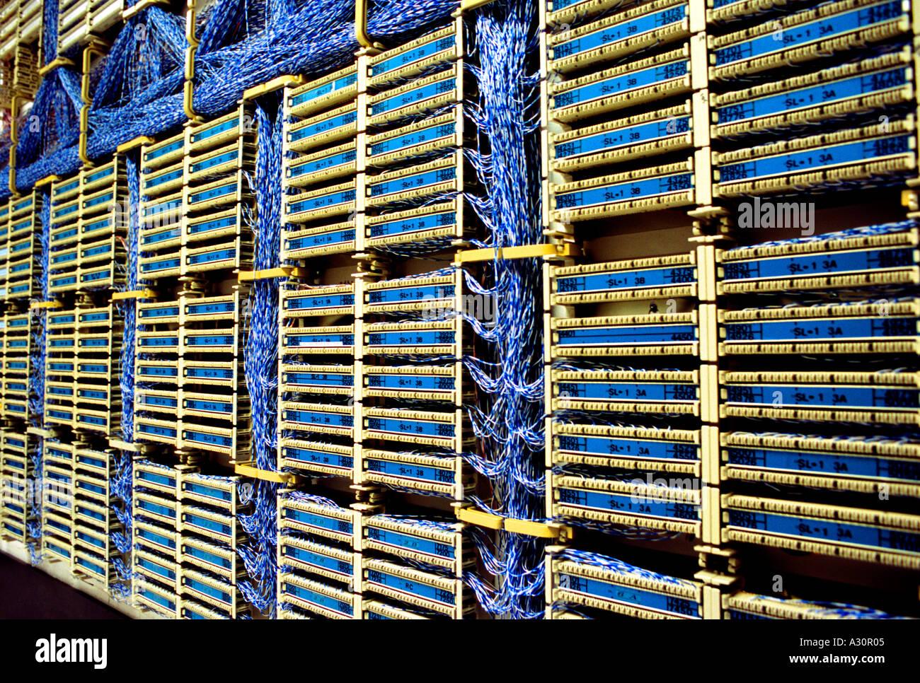 Hauptverteiler Stockfoto, Bild: 3471108 - Alamy