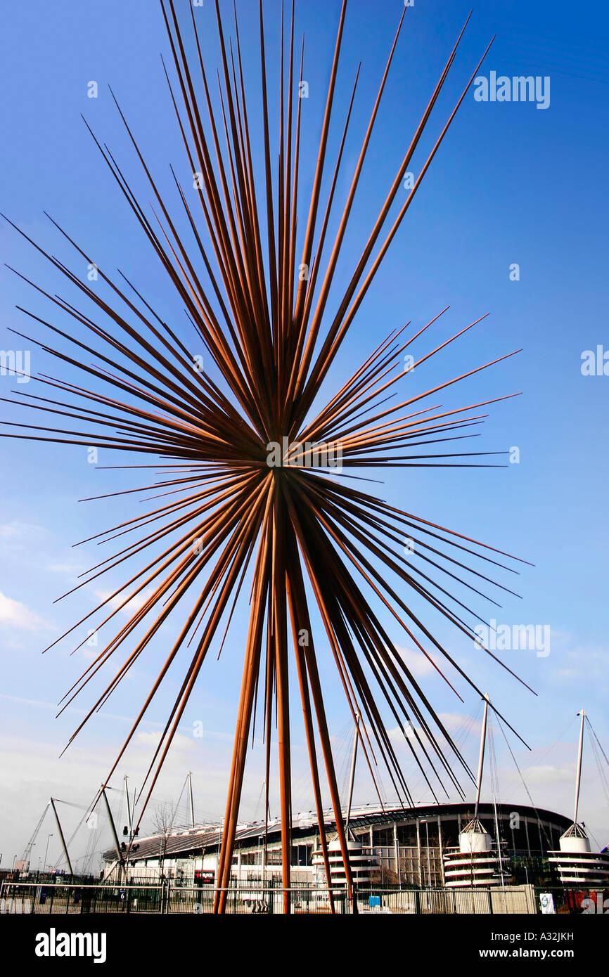 """Das """"B des Knalls"""", Manchester, England, entworfen von Thomas Heatherwick Stockfoto"""