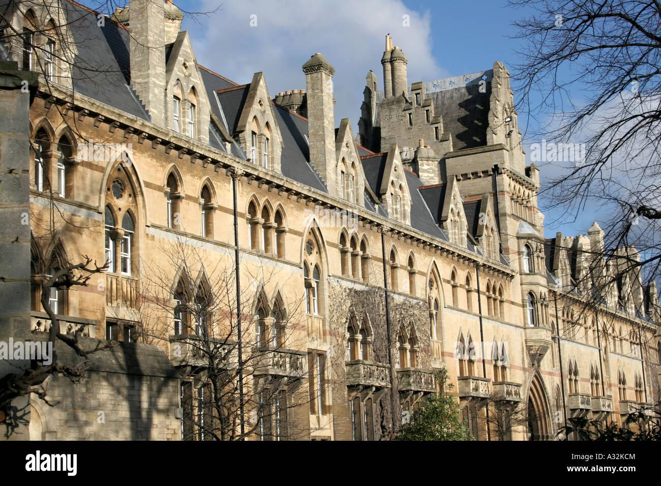Christ Church College, Oxford. Stockfoto