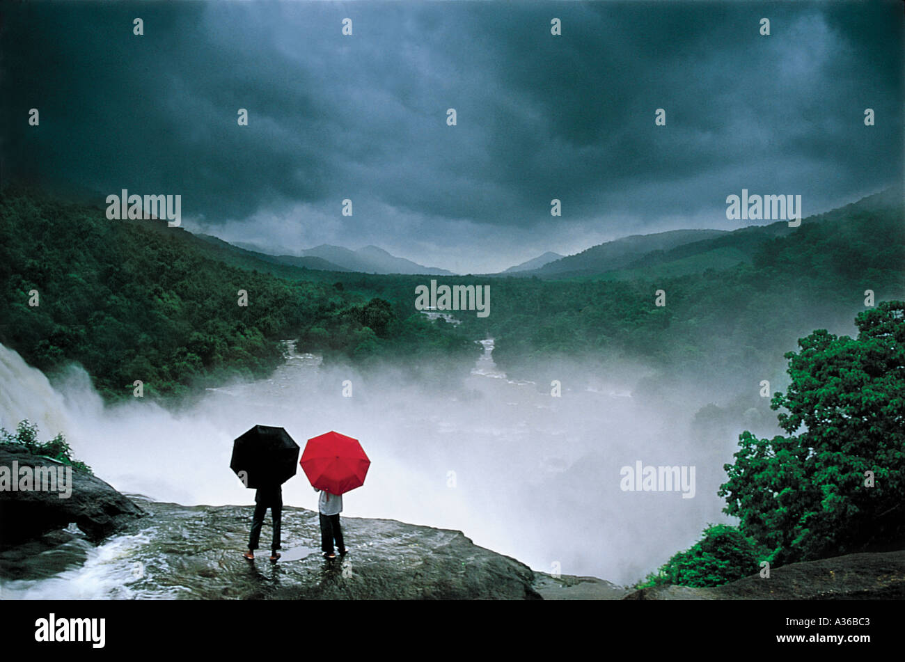 Monsun-Stimmungen Stockbild
