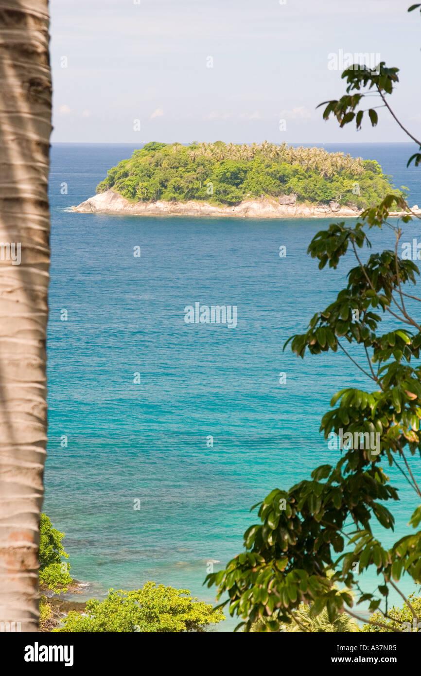 Phuket Ko Phu, grün, blau, Romantik, Ansicht, Strand, Strand, Paradies, Schönheit, Wasser Stockbild