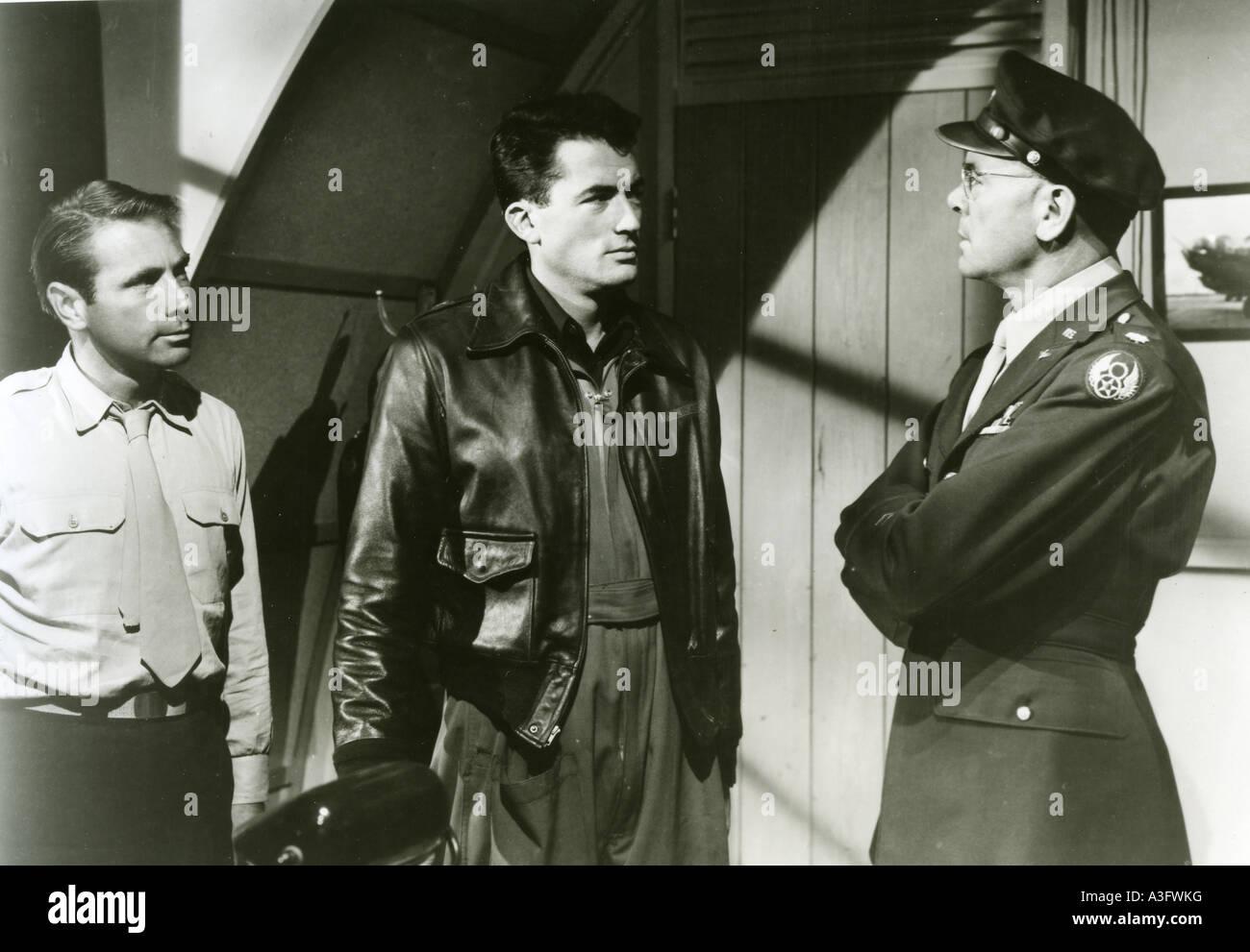 12:00 hohe 1949 TCF Film mit Gregory Peck - Zentrum Stockbild