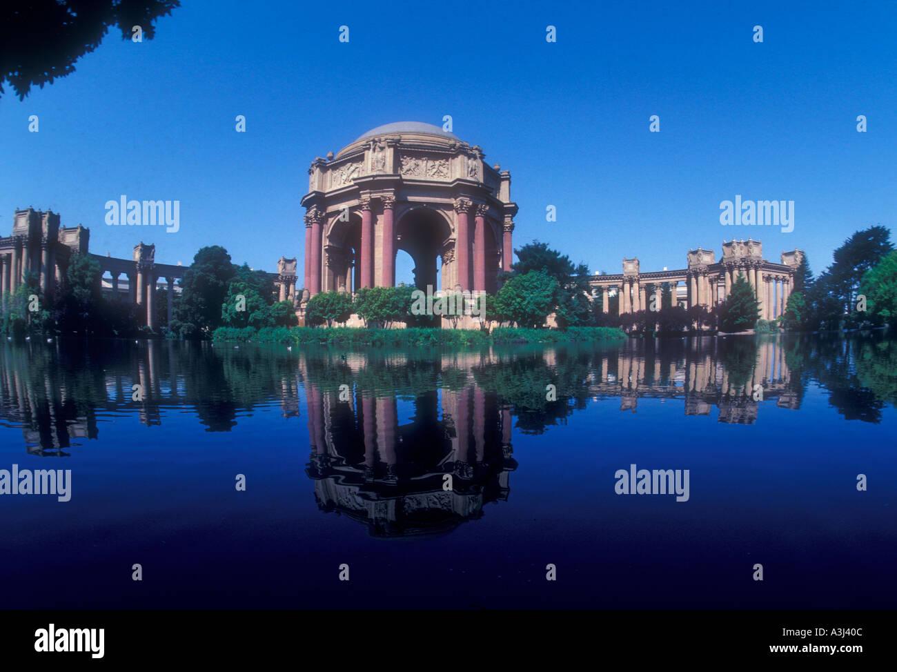 Der Palast der schönen Künste San Francisco Kalifornien, USA Stockbild