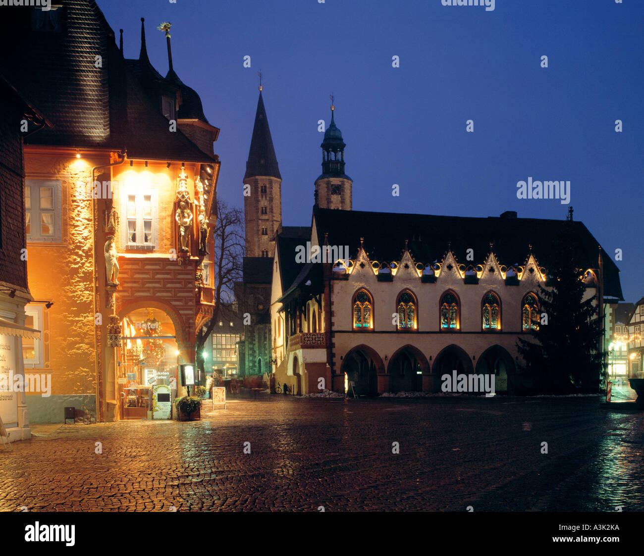 D-Goslar, Gose, Harz, Niedersachsen, festliche Atmosphäre von ...
