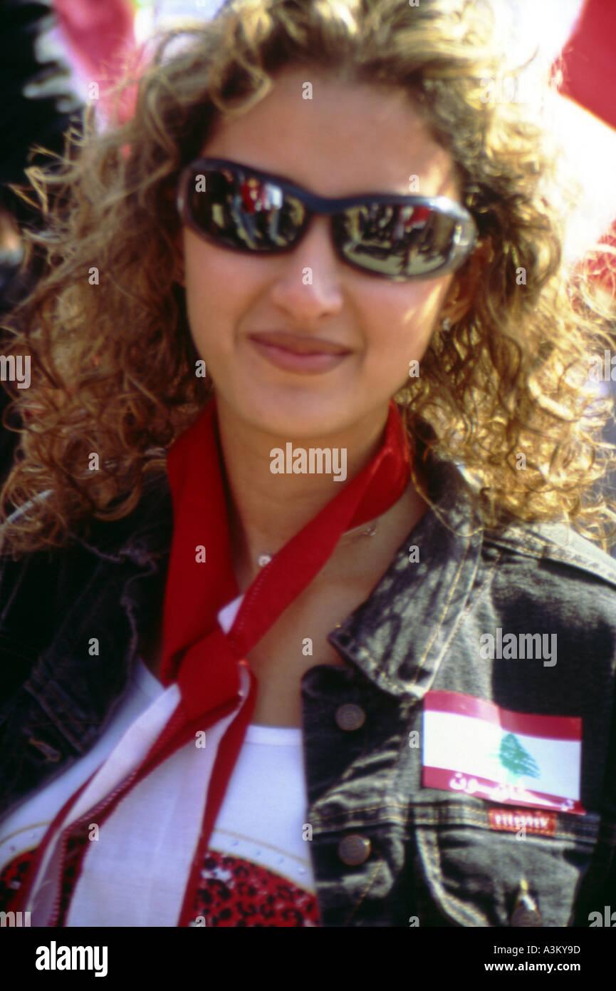 ein Ful Figur Beirut-Libanon Stockfoto
