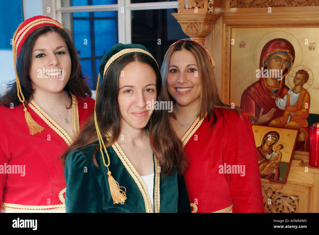 Östlichen orthodoxen Frauen