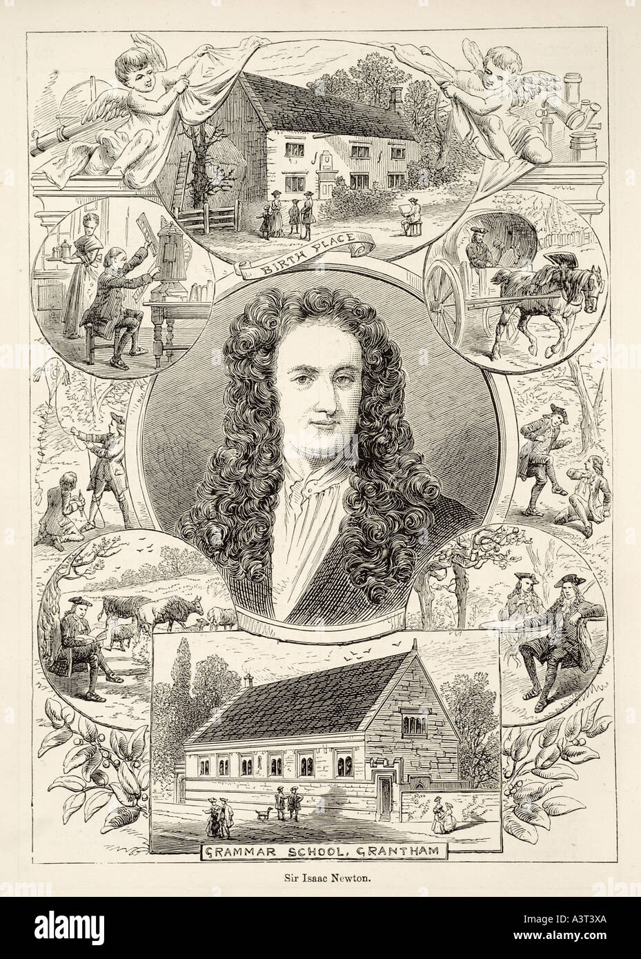 influences on sir isaac newton and Sir isaac newton and the three laws of determinism ravil kalmykov ravil8@yandexru in the foreword to the first edition of.