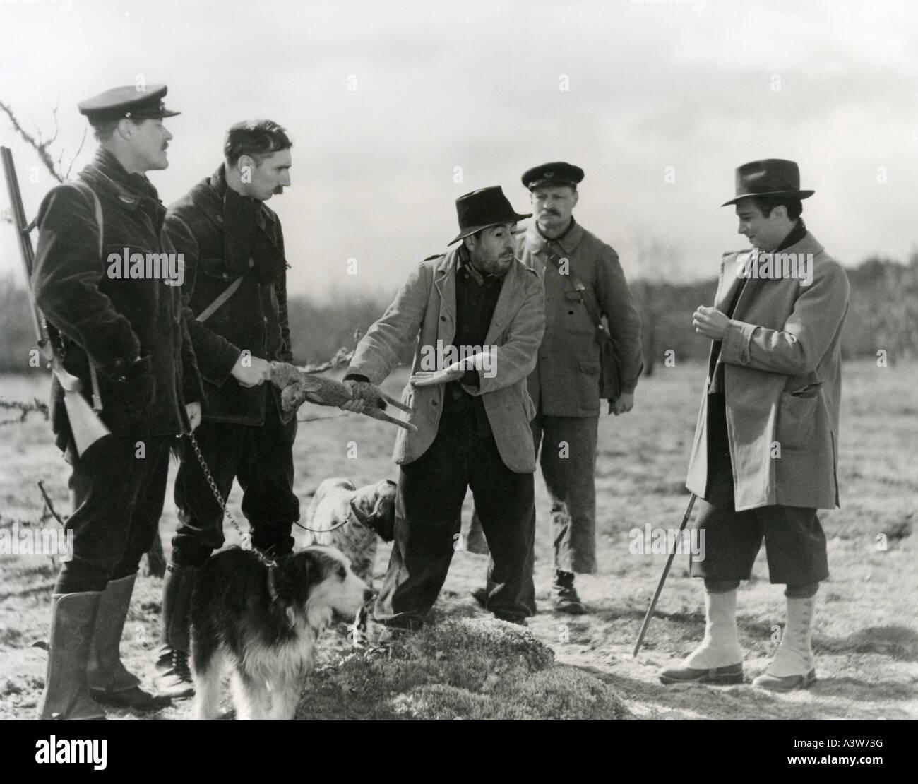 LA REGLE DU JEU 1939 Nouvelle Edition Film geschrieben und Regie von Jean Renoir Stockbild