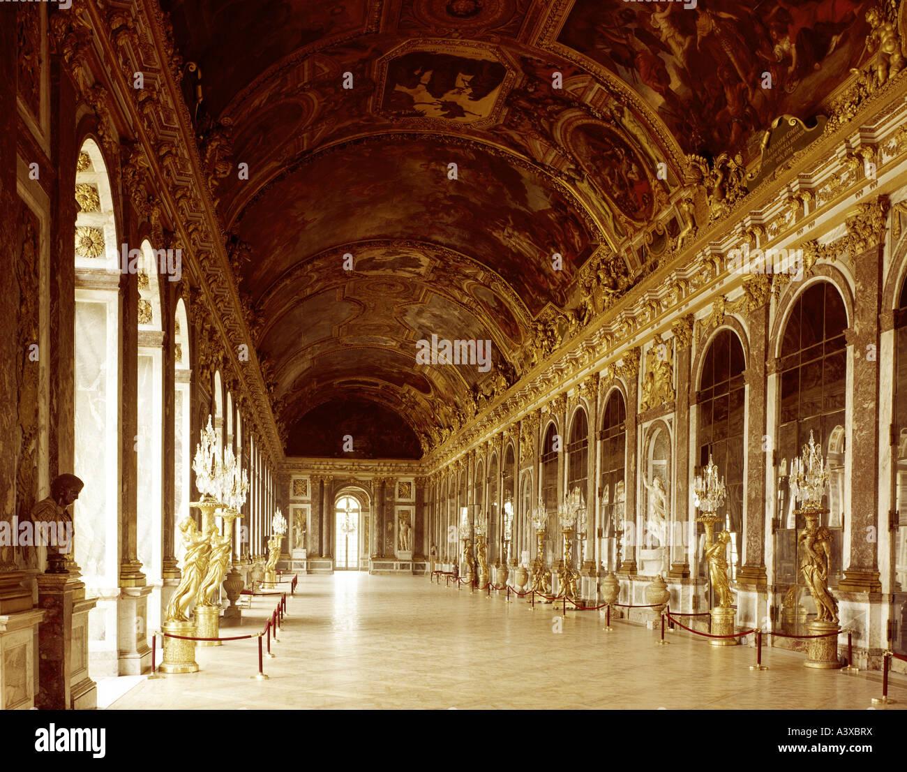 Geographie/Reisen, Frankreich, Versailles, Schlösser, Schloss ...