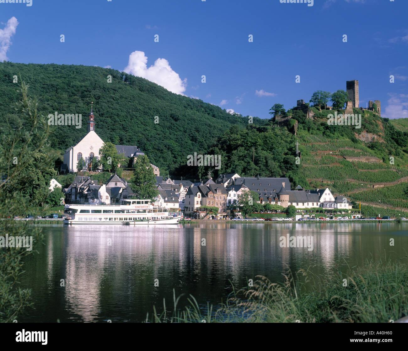 Beilstein Moseltal Deutschland Stockbild