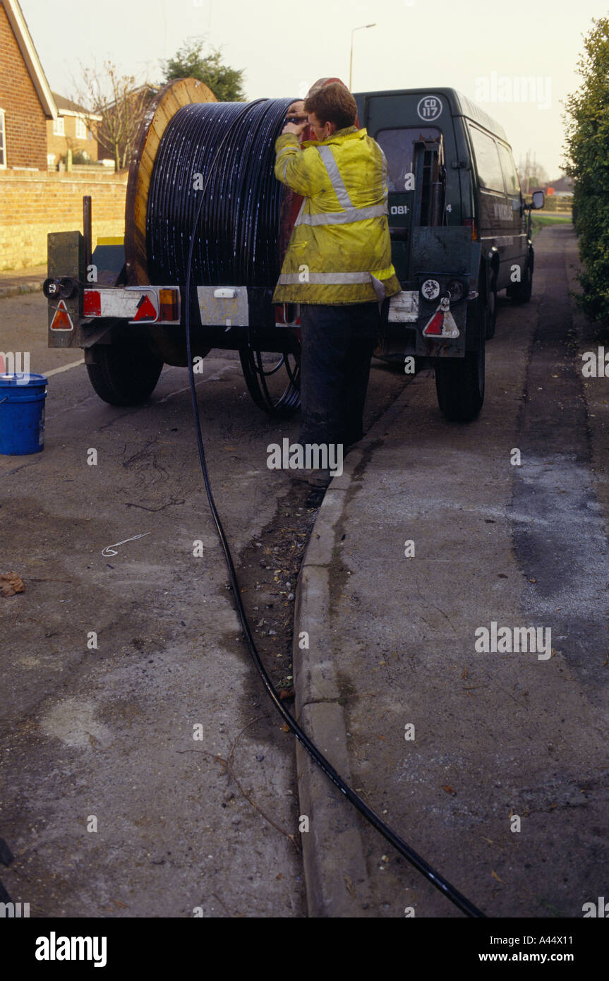 Laying Cable Stockfotos & Laying Cable Bilder - Alamy