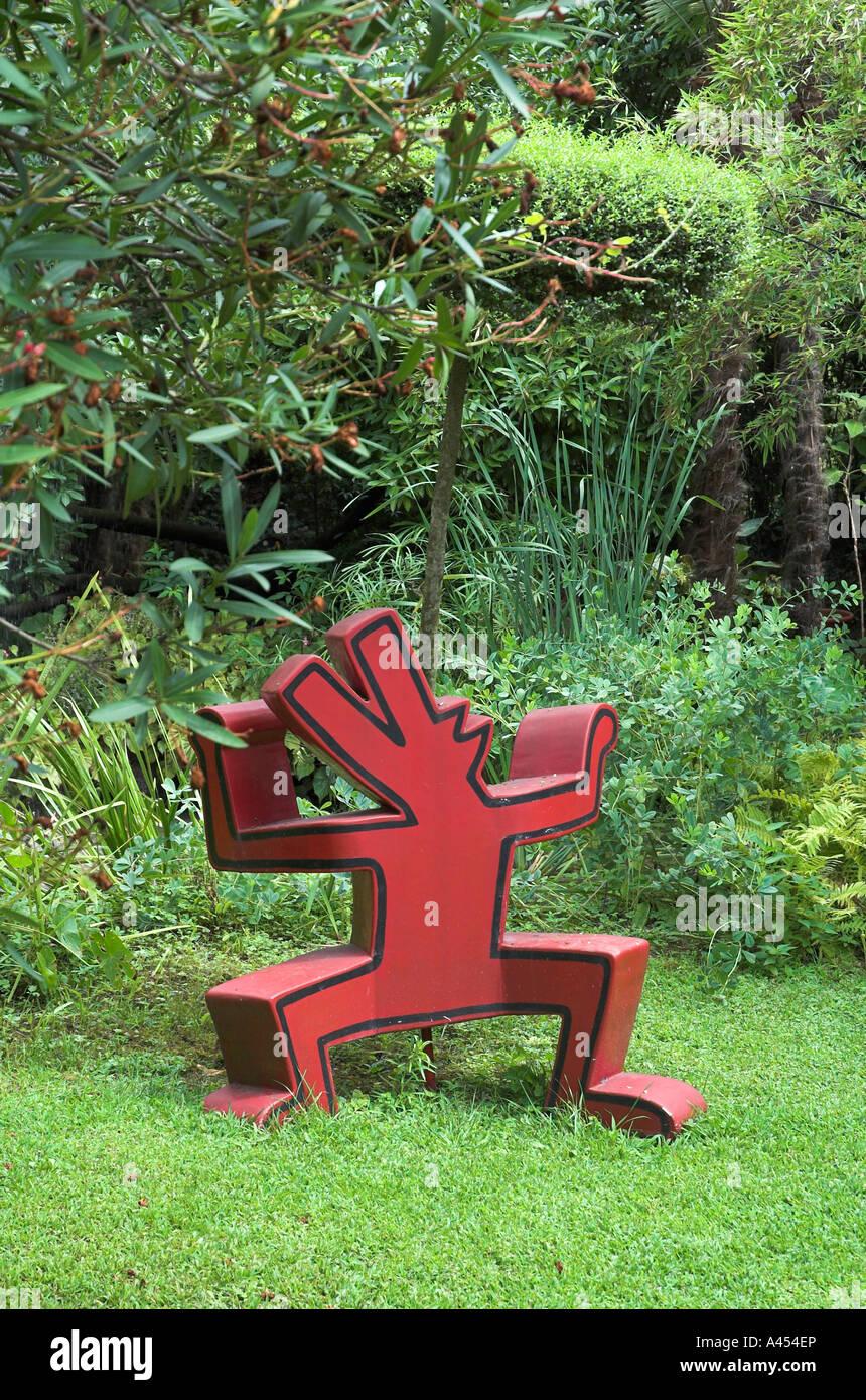 Kunstwerk In Heller Botanischer Garten Gardone Riviera Am Gardasee