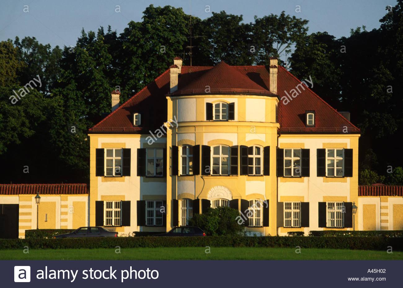 München-Villa-Haus Villa Bayern Deutschland Europa Stockfoto, Bild ...