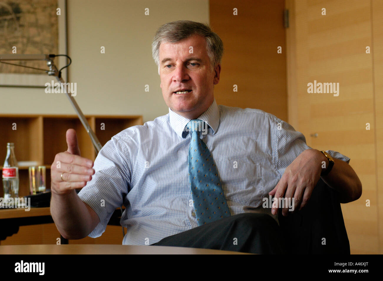 Horst Seehofer, stellvertretender Vorsitzender der CDU/CSU Stockfoto