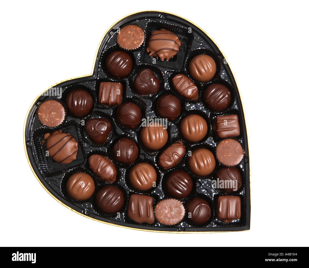 Valentinstag Pralinen Stockfotos Valentinstag Pralinen Bilder Alamy