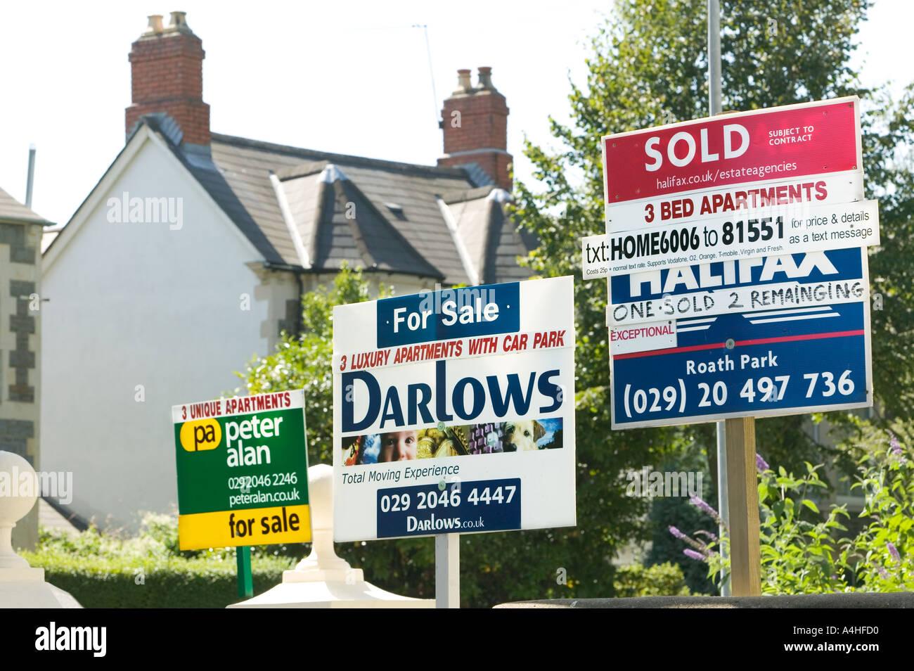 Immobilienmakler für Verkauf und Vermietung und verkauft Zeichen ...