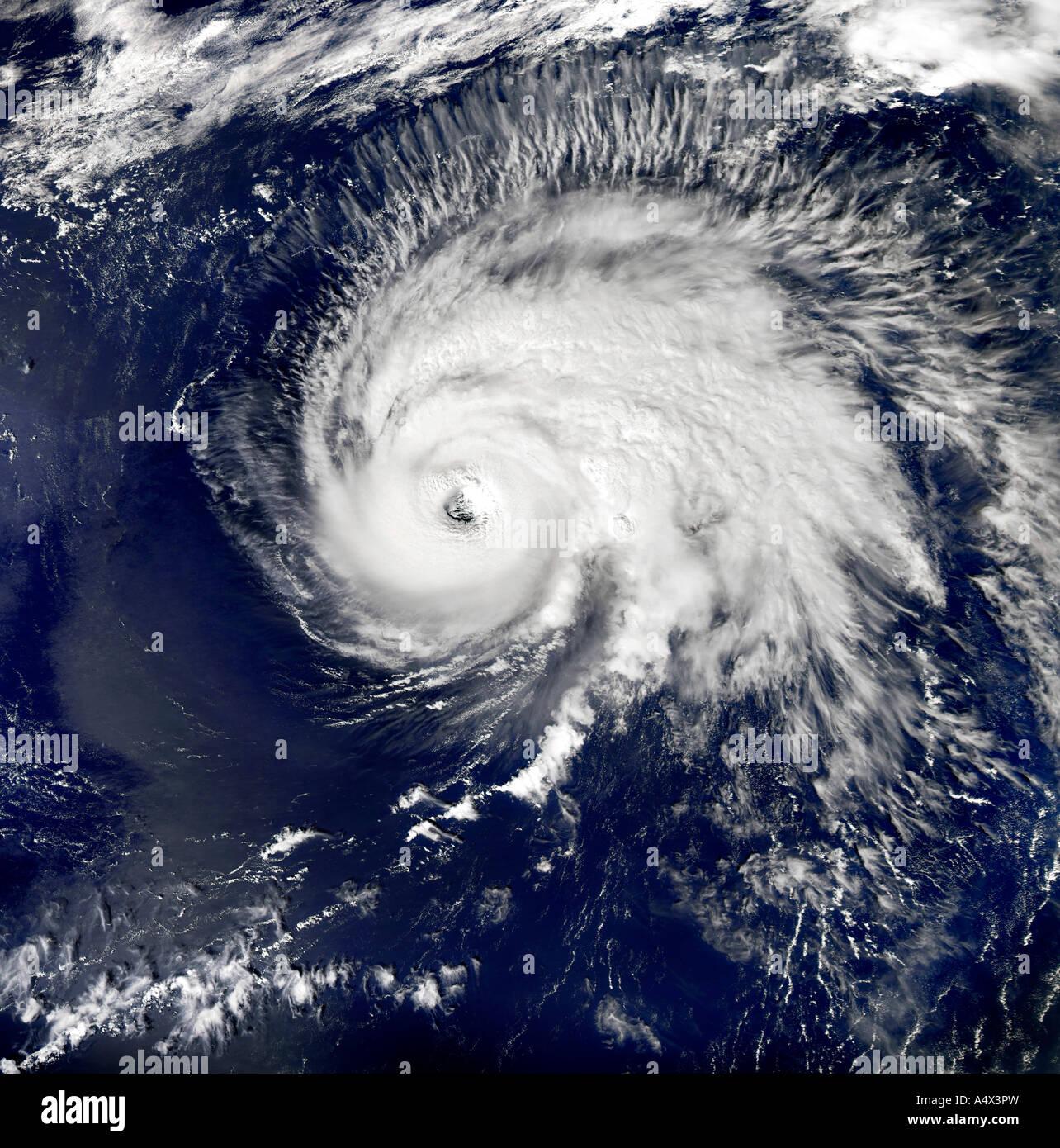 Hurrikan Gordon optimiert und erweiterte Version der ein Originalbild der NASA Stockbild