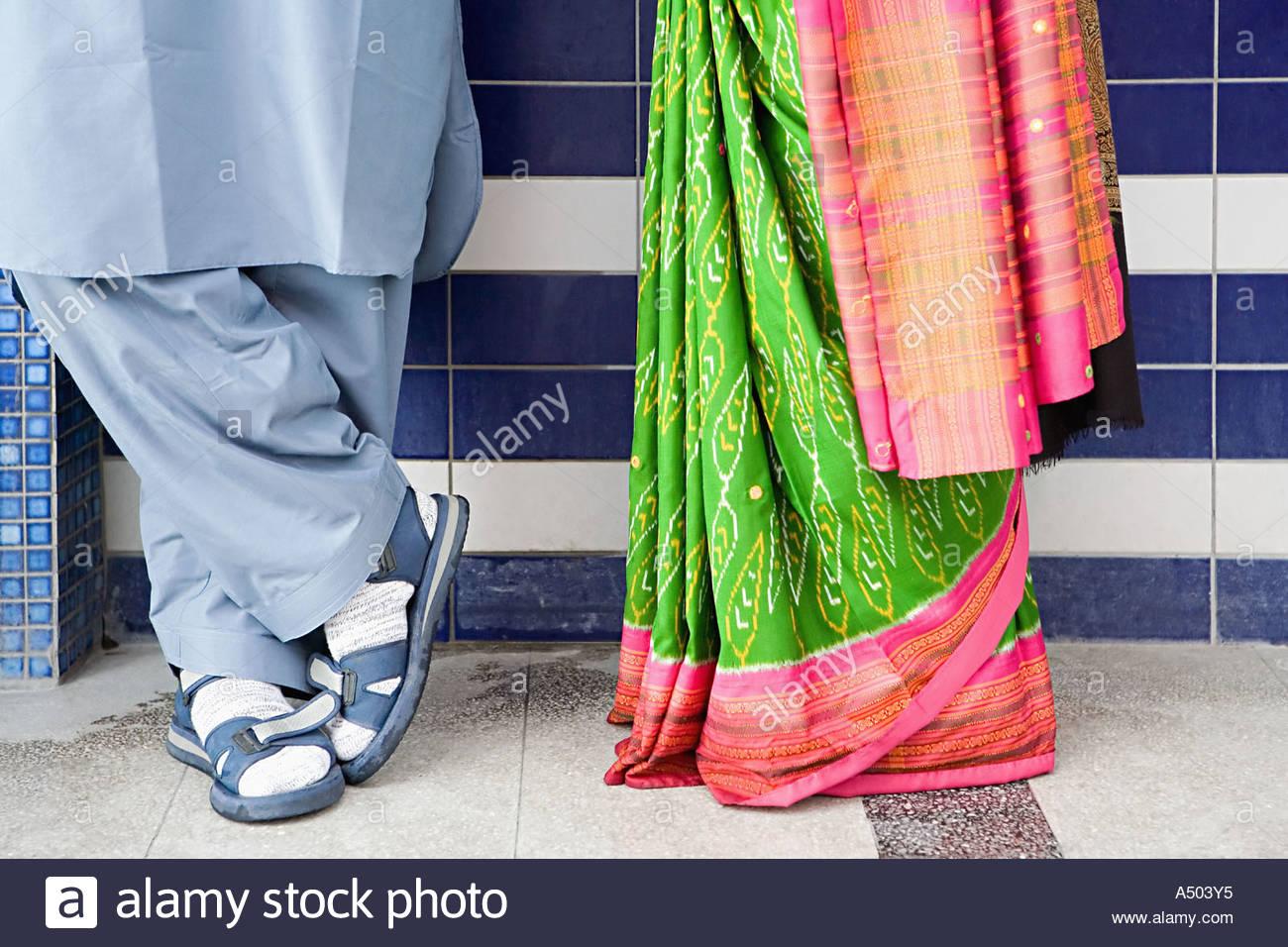 Indische paar Stockbild