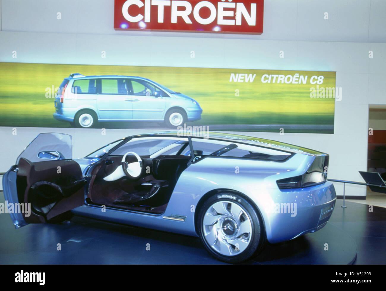 Citroen C-Airdream-Konzeptfahrzeug 2002 Stockbild