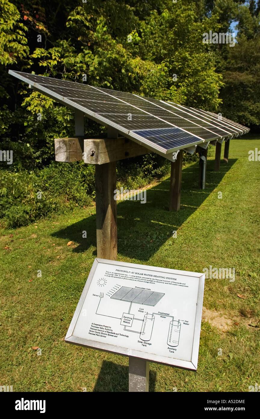 Photovoltaik Solar Warmwasserbereitung mit Diagramm verwendet für ...