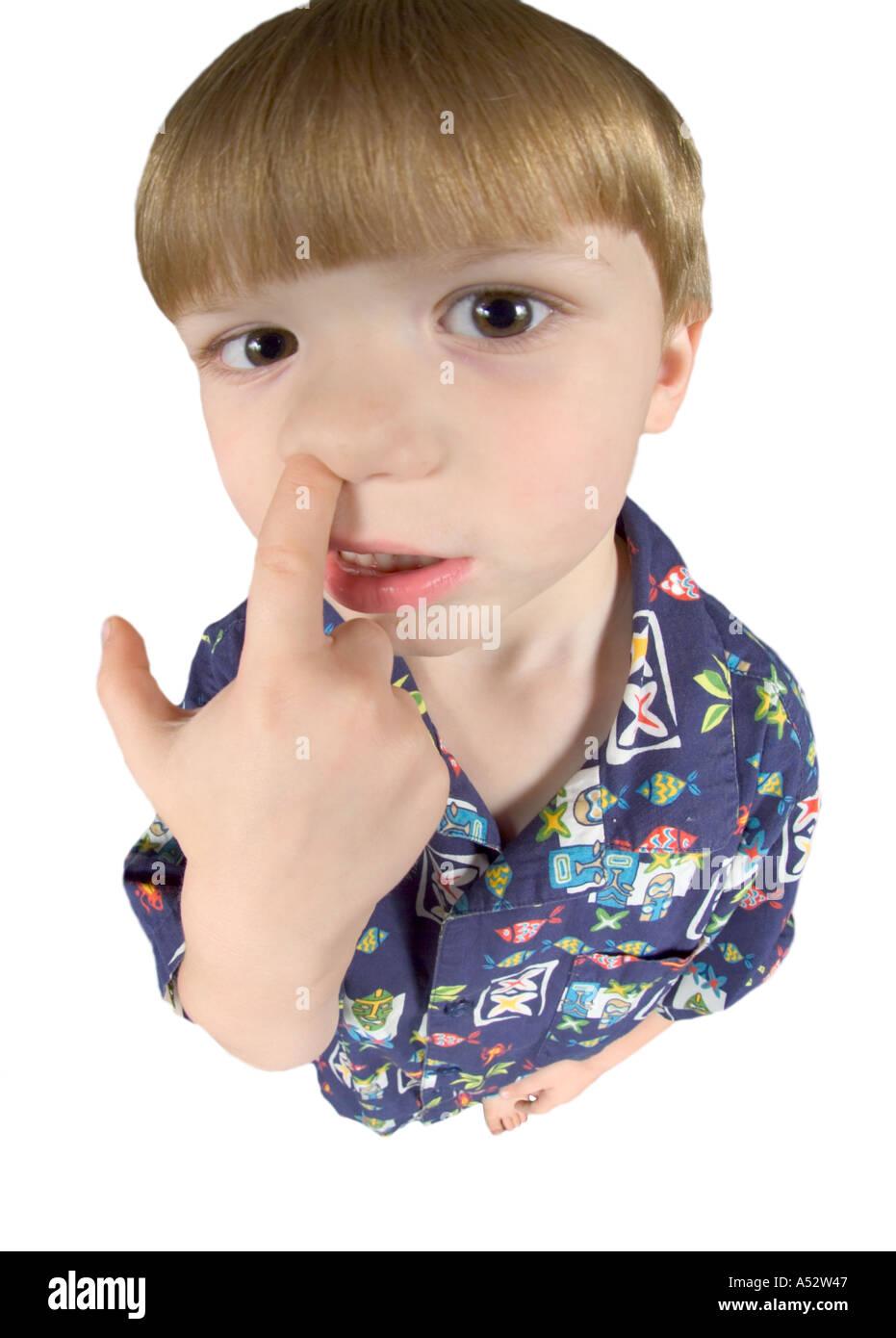 Junge Witzig Humor Dumme Perspektive Kind Kinder Gesicht Gesichter